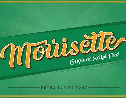 Morrisette Font