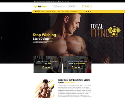 JD Fitness - Best Gym Fitness Joomla Template