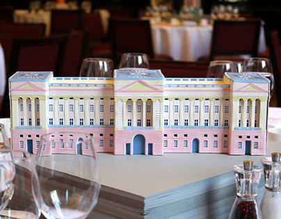 Buckingham Palace Paper-craft Model
