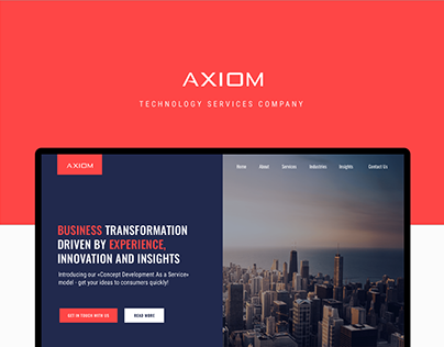 Axiom Corporate Website