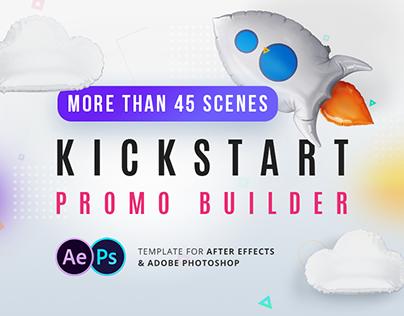 Kickstart Promo Builder - After Effects Template