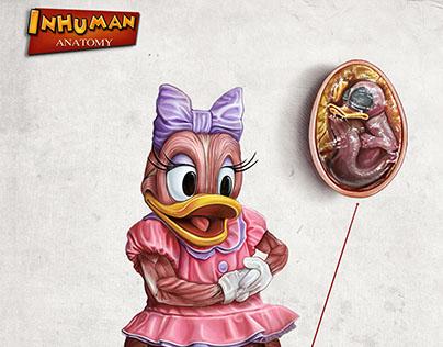 INHUMAN ANATOMY series 2 Daisy's anatomy