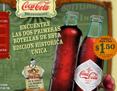 Coca-Cola 120 aniversario
