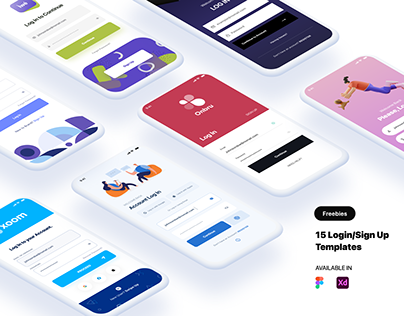 15 Free Log In/Sign Up Templates (New)