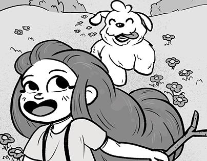 Lilou et fluffly