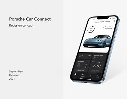 Porsche Car Connect (redesign concept)