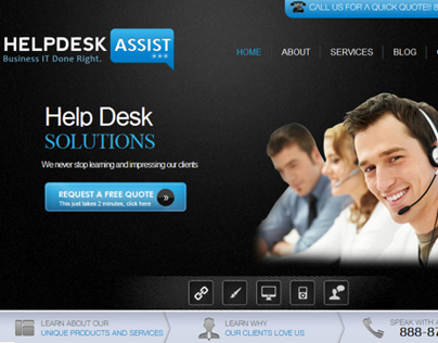 The Help Desk Assists