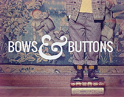 Bows & Buttons -Show Off Your Inner Adult.
