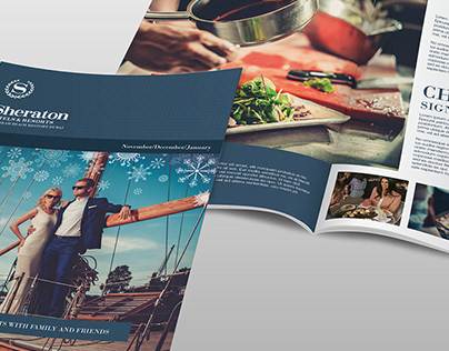 Sheraton Hotels - Festive Brochure (Pitch)