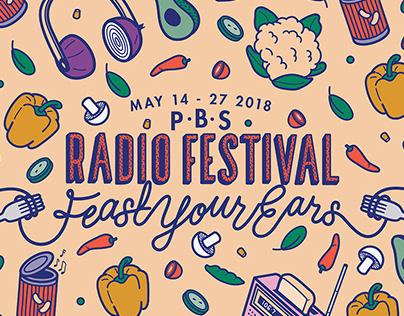 PBS Radio Festival Campaign