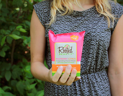 Rooted Beauty Package Design