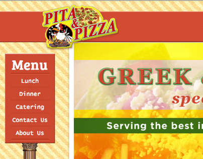 Pita And Pizza Website Development