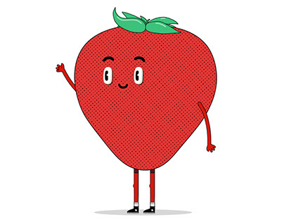 Strawberry characters