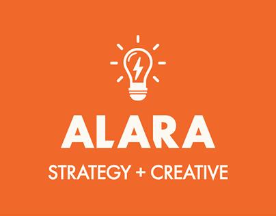 Alara Creative Rebrand