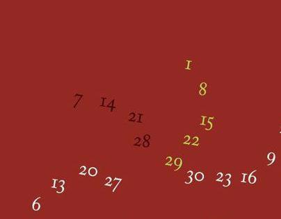 Pure Typo Calendar