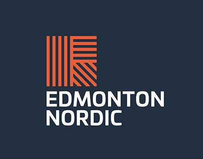 Edmonton Nordic Ski Club Visual Identity