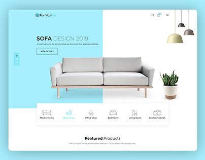 Furnitureno - Furniture Store eCommerce HTML Template