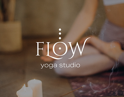 FLOW - Yoga Studio - Logo design