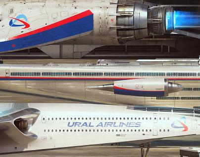 Ural Airlines Fantastic Fleet