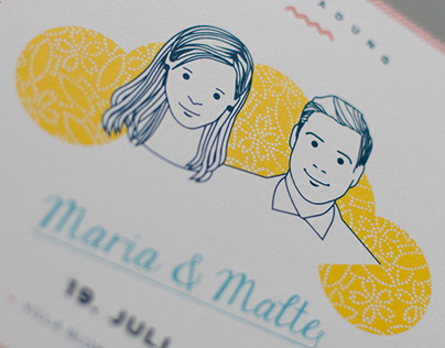 Maria & Malte: Wedding Design