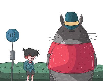 Conan X Totoro