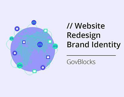 Website Redesign & Brand Identity for GovBlocks