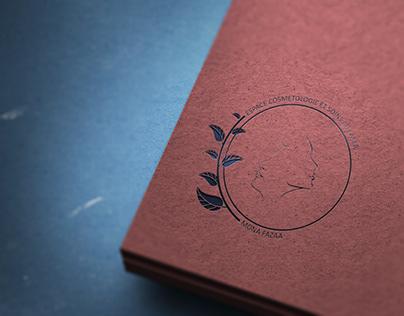 espace cosmétologie - logo design
