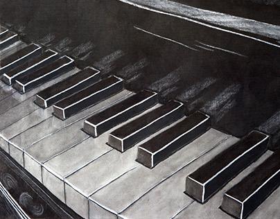 Charcoal & Pencil