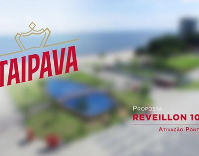 Projeto Ponta Negra para festa de Réveillon itaipava