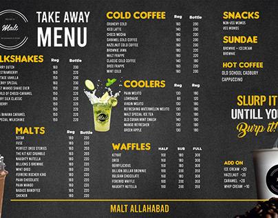 Malt cafe Branding