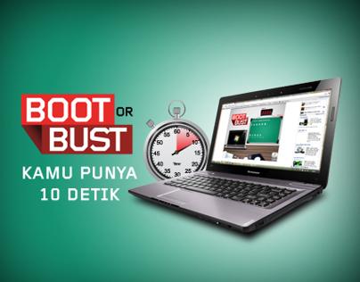 Lenovo: Boot or Bust