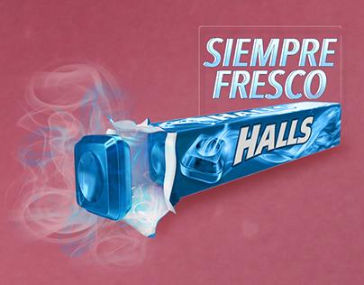 Halls - Siempre fresco
