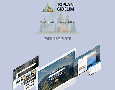Toplan Gidelim - Social Activity Web App