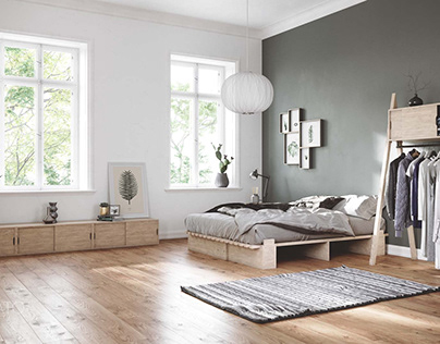 GLORIOUSLY DESIGNED BEDROOM