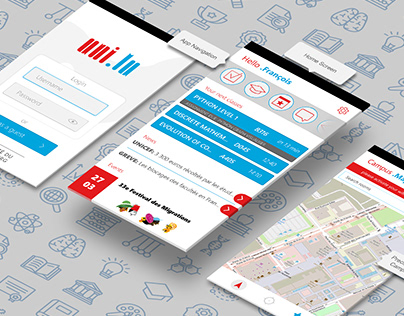 Student App UI Design