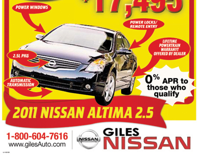 Newsprint Adverts