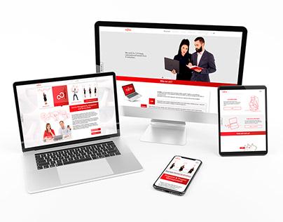 Strona www dla Fujitsu
