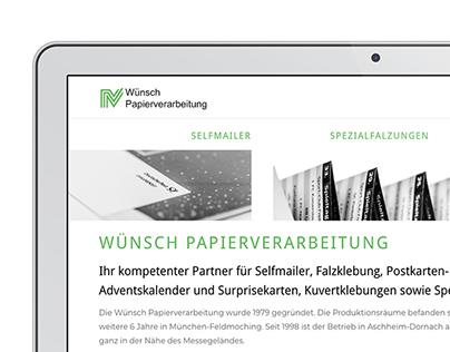 Wünsch Papierverarbeitung