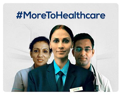 #MoreToHealthcare