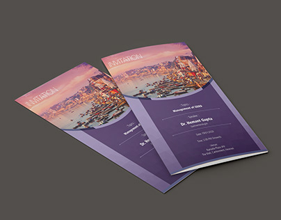 Two Fold Leaflet Template
