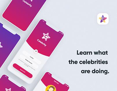 Celebrity App UI&UX - IOS & Android