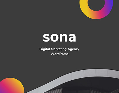 Sona - Digital Marketing Agency WordPress