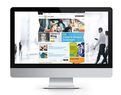 Amdocs / NAM Group Website Portal