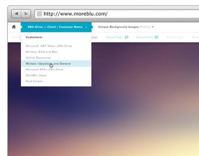 MoreBlu App