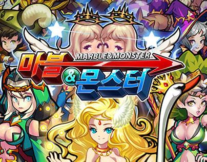 마블&몬스터(2015,mobile) 2D Effects, Character