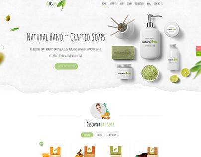 WS Foam – Soap WooCommerce WordPress theme