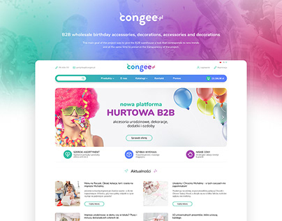CONGEE - B2B wholesale birthday accessories, decoration