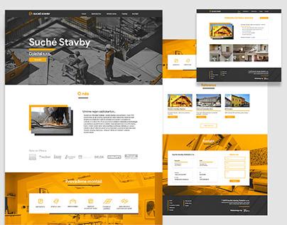 Suché Stavby webdesign