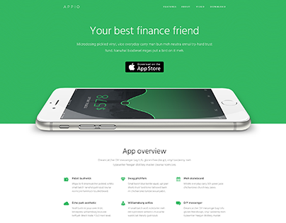 Appio. Your finance friend