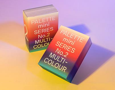PALETTE mini 02: Multicolour